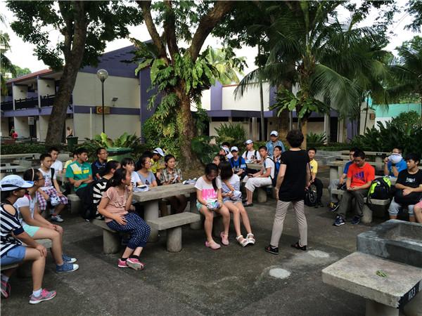 体验异国风情,学习别样英语 ——树兰中学2014年暑期新加坡游学之旅图片